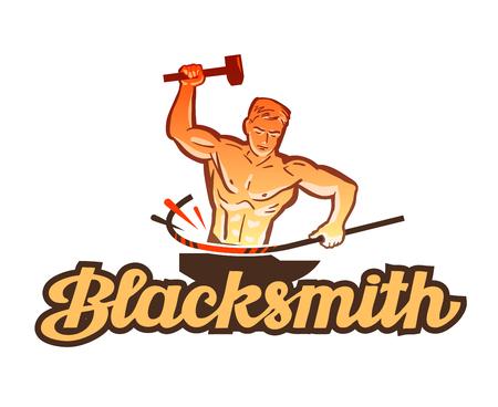 bellow: blacksmith vector. smithy or industry icon