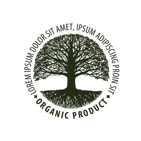 environmentally: tree. organic, Natural product. Nature, ecology symbol Environmentally friendly icon