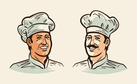 Portrait of cheerful chef