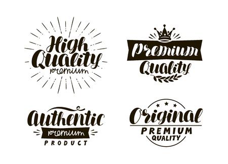 description de la typographie de la typographie ensemble icons set. ensemble de symboles . vector illustration