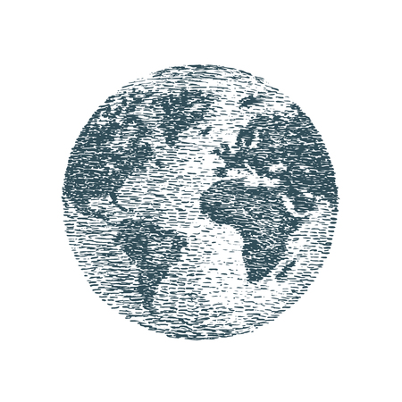 World, planet Earth, sketch. Travel, business concept.