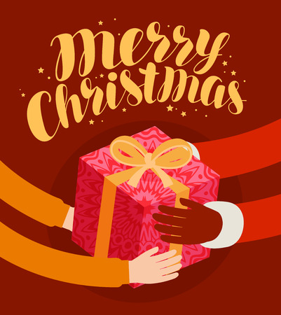 merry Christmas, banner. celebration holiday concept vector