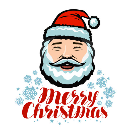 Portrait of cheerful Santa Claus. Reklamní fotografie