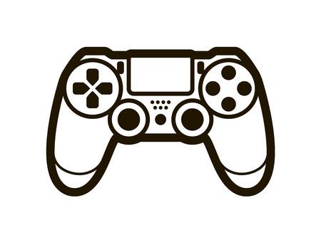 Joystick symbol or icon. Video game concept.