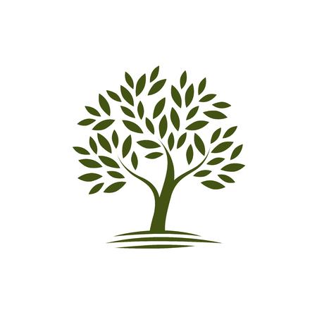 Logo tree. ecology, Nature icon or symbol.