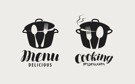Label for restaurant or cafe menu.