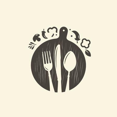 Culinary art, cuisine symbol.