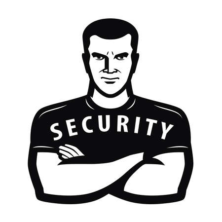 Security guard symbol. Protection concept vector illustration 向量圖像
