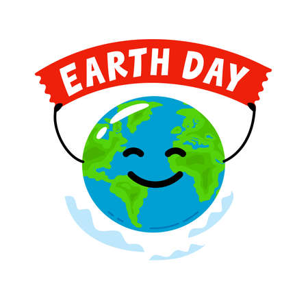 Earth day. Environment, ecology concept flat style vector isolated illustration