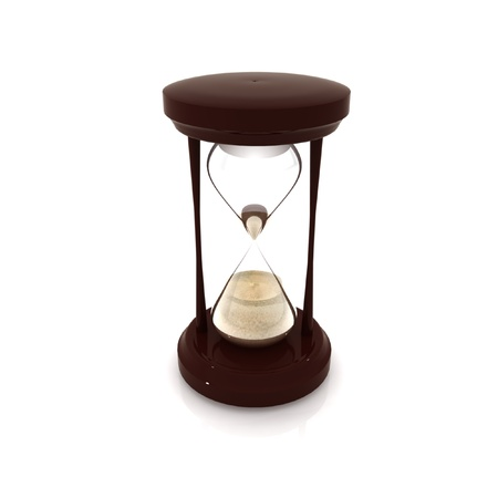 hourglass-time Stock Photo