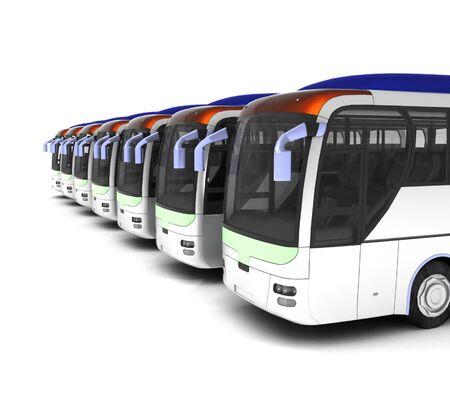 bus tours Stock Photo - 9374003