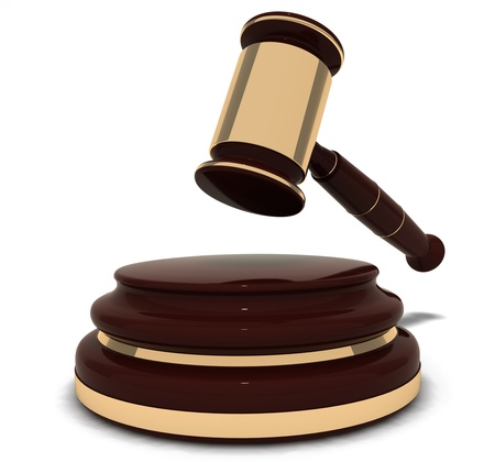 judge atribur Stock Photo