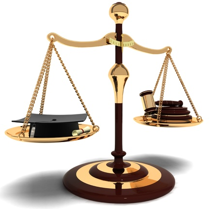 equality of justice Stock Photo