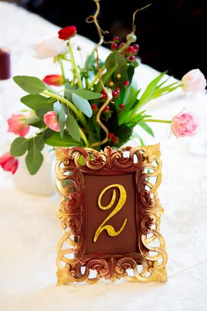 Very Stylish wedding table decoration for the dinner