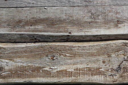 horozontal: Two old textured boards horozontal background photo