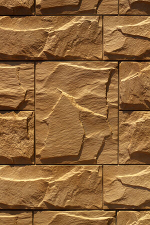 artifical: Artifical stones surface (plastic facing panel) photo