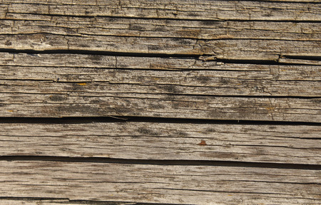 knotting: Old shaky weathered wooden board texture photo Stock Photo