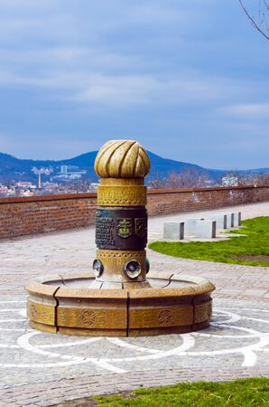 attributable: Historical monuments. Attributable to the State objects of great architectural and historical value. Stock Photo