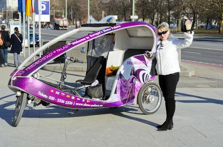 le plaisir de vélos, un moyen de transport universel pour voyager autour de la ville ou ses environs. Éditoriale