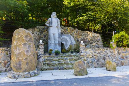 Pequeño opryshky monumento - El movimiento del partido rebelde campesino