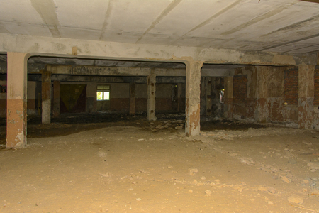 Destroy and plunder shop of the plant, which worked in the defense industry of Ukraine. Robbery and an act of vandalism. September 2017 新聞圖片