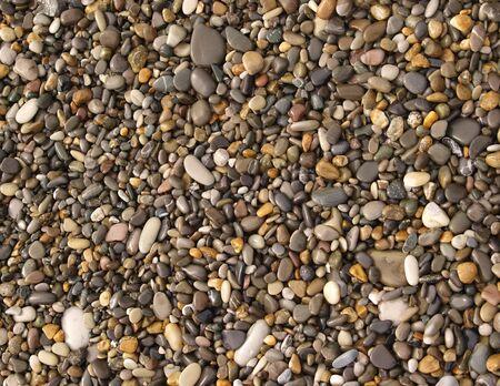 seacoast: Wet stones on seacoast