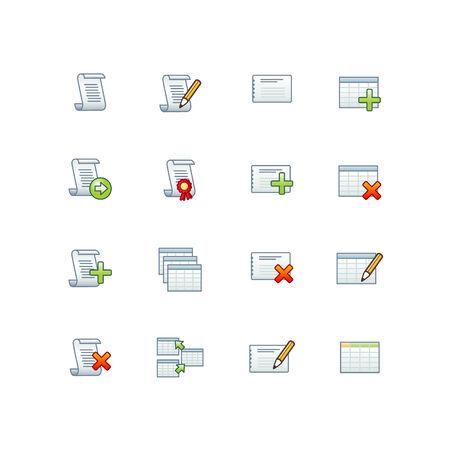 base de datos de proyectos iconos 1