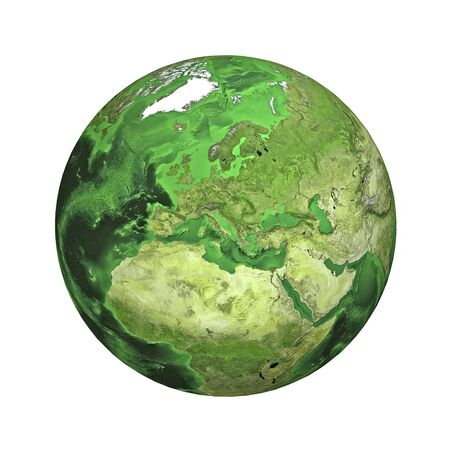 physical geography: Earth. Europe