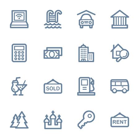 pay money: Travel web icons set