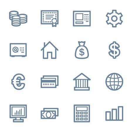 Money web icons Vector