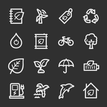 web: Ecology web icons
