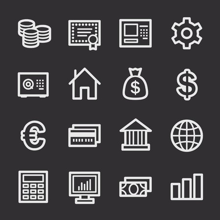web: Money Web Icons