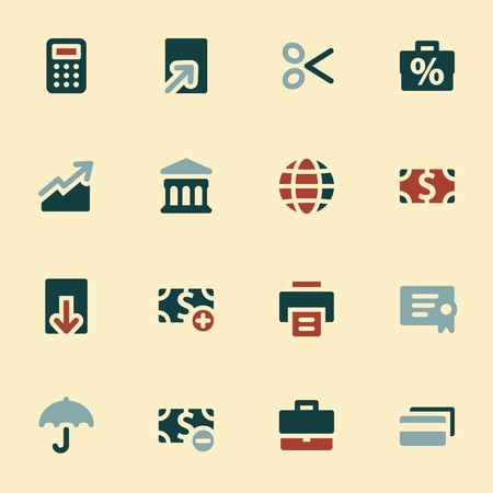 global finance: Finance mobile icon, business vector web sign. Money infographics symbols. Illustration
