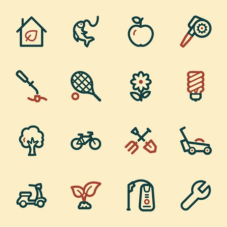 gardening  equipment: Gardening Equipment Web icons