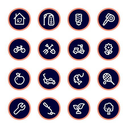 vehicle icon: Gardening Equipment Web icons