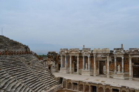Left grandstand, arena for Gladiator combat.