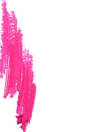 extrusion: Beautiful cosmetics sample  on a white background.