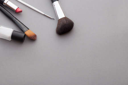 varnish for the nails: It is a good idea for cosmetics advertising. Stock Photo