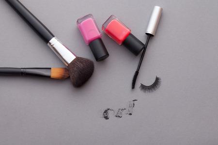Very beautiful cosmetics advertising.
