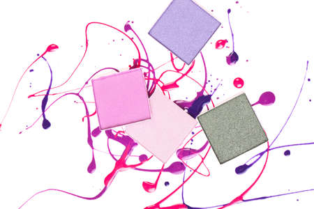 Sample of cosmetics for advertising .