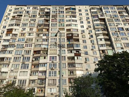 Poor life in Ukraine in old houses.