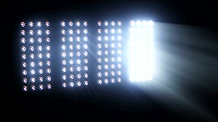 Lights Flashing Spotlight Wall VJ Light Bulb led blinder blinking club concert stadium disco dj matrix beam dmx fashion floodlight halogen headlamp - Please see other style options in my portfolio Stockfoto