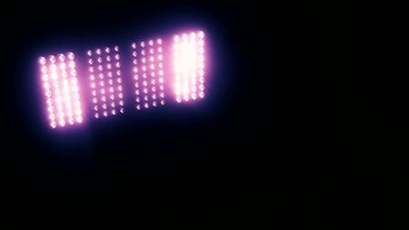 blinder: Lights Flashing Spotlight Wall VJ Light Bulb led blinder blinking club concert stadium disco dj matrix beam dmx fashion floodlight halogen headlamp - Please see other style options in my portfolio Stock Photo