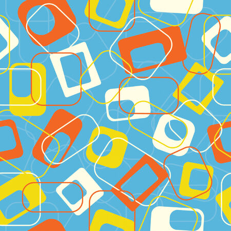 fun rectangles in one pattern Vector