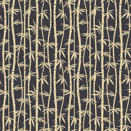 motif de bambou