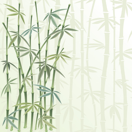rietkraag: floral frame in Chinese stijl Stock Illustratie