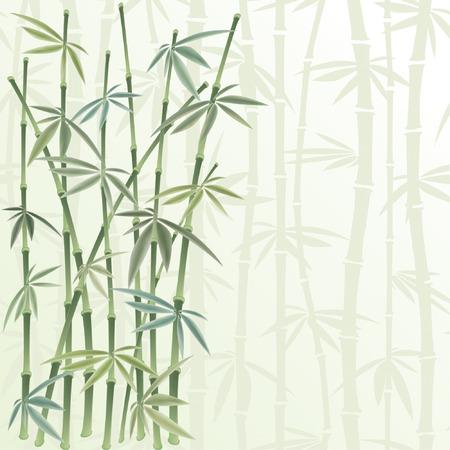 canne: floral frame in stile cinese