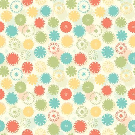 flores color pastel: diversi�n pastel en un patr�n de flores