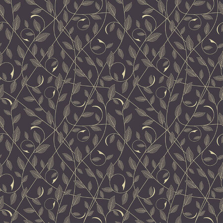 one pattern in floral style