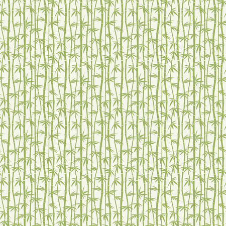 green bamboo in one pattern Stock Vector - 4732148
